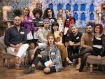 Los aprendices del concurso 'Maestros de la costura 3'.