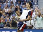 Carlos Alcaraz, en el US Open