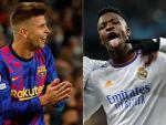 Piqué y Vinícius, héroes de Barcelona y Madrid en Champions