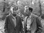 Mia Farrow y Woody Allen, en 'Zelig'.