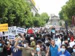 Manifestación en Madrid contra el racismo.