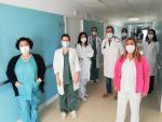 Unidad del hospital Infanta Elena ante el Covid-19 persistente.