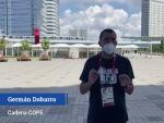 Germán Dobarro, sobre el control en Tokio 2020