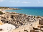 Anfiteatro romano de Tarragona, construido en el siglo II.