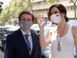 El alcalde de Madrid, José Luis Martínez-Almeida y la presidenta de la Comunidad, Isabel Díaz Ayuso.