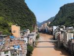 Yanjin, la ciudad más estrecha del mundo.