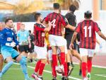 Lincoln Red Imps celebrando un gol en el Victoria Stadium