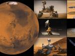 Hay seis artefactos en Marte realizando misiones.
