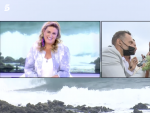Carlota Corredera conectando con la boda de Anabel Pantoja