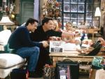 Los protagonistas de Friends en el apartamento de Mónica.