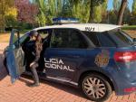 Vehículo de la Policía Nacional. DELEGACIÓN 19/10/2021