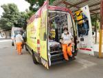 Sucesos.- Una mujer resulta herida en un accidente entre un coche y un camión en Benifairó de la Valldigna